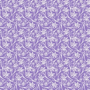 Edelweiss Lace Nr. 2 Lavender Small