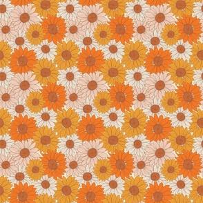 Retro Sunflower_Smaller scale