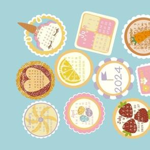 Cake Tea Towel Calendar 2021
