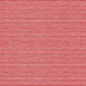fine red wiggly stripes