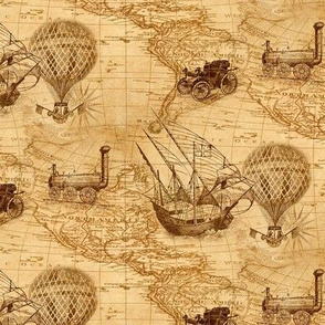 old explorers map