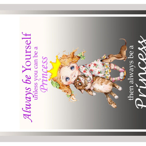 always be a princess quilt panel Izmaylova