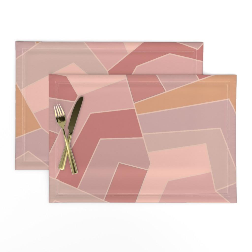 Lamona Cloth Placemats featuring Landscapes & Seascapes Design by vagabond_folk_art