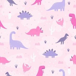 Dinos in pink