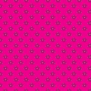 Atomic Dots_Bright Pink