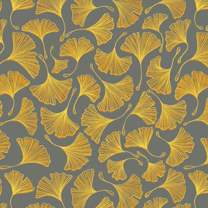 Ginkgo Yellow/Grey