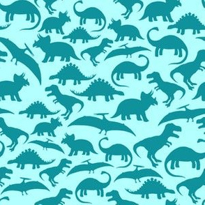 Dinos Turquoise Mono