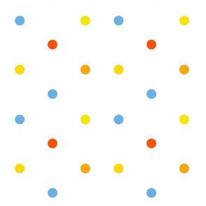 Mini Dot Sprinkles in Birthday Candles