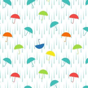 Tipsy Turvy Umbrellas