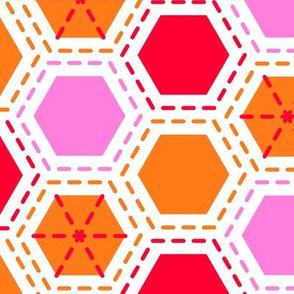 Tilkkutakki (Warm Colours) A