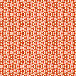 A Wild Geometry -- oranges and reds