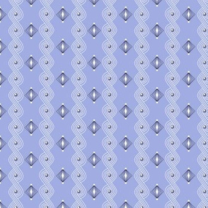 Icing on the Cake* (Ultraviolet) || diamonds frosting waves swirls sprinkles holiday christmas wedding birthday decoration decorating stripes pastel purple lavender