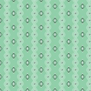 Icing on the Cake* (Green Stamps) || diamonds frosting waves swirls sprinkles holiday christmas wedding birthday decoration decorating stripes pastel mint