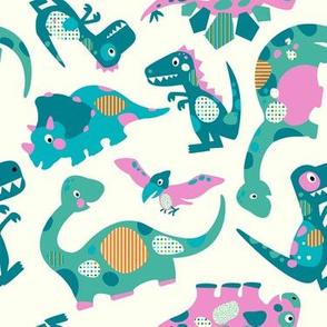 Princess Awesome Dinosaurs - Medium Size