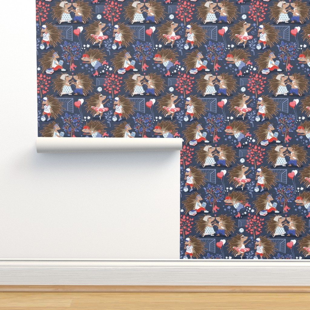 Isobar Durable Wallpaper featuring Dreamy hedgehog princess by selmacardoso