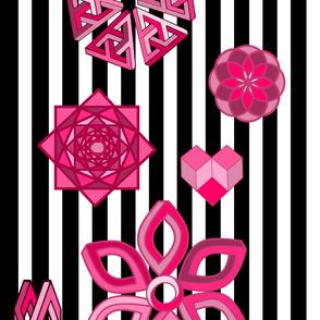 Optical Illusions Pink