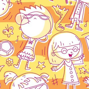 Princess Awesome Doodles