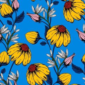 Bloom_blue background