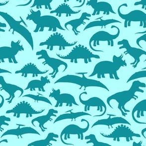 Dinos Turquoise Mono big