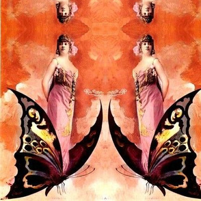 butterfly ladies