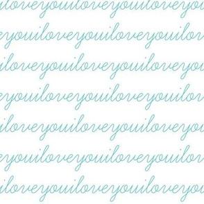 I Love You Aqua