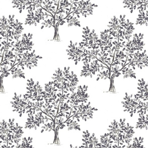 Oak Tree (Dark Grey)