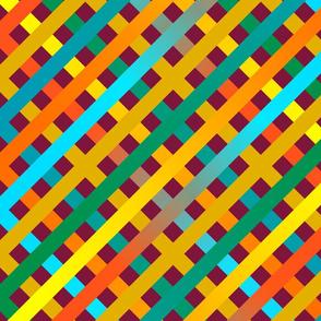 Weaving diagonals colour 1
