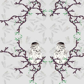 Branched birds