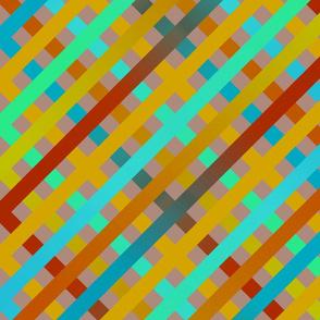 Weaving diagonals colour 3