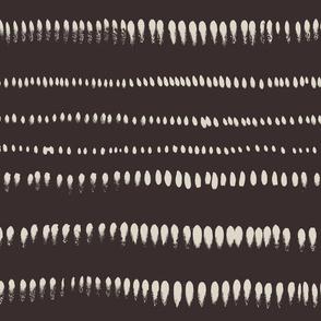 Brushstroke stripes horizontally