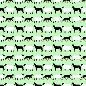 Basic Beaucerons and sheep - mint