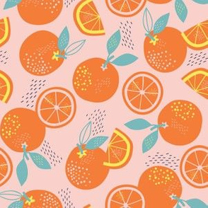 ORANGES ARE THE ONLY FRUIT pink