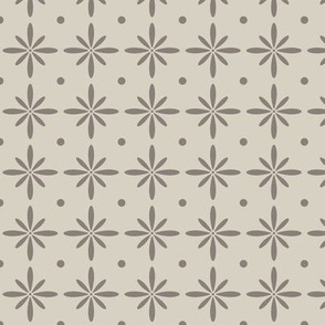 SMALL Farmhouse Flourish Taupe (Heartland)