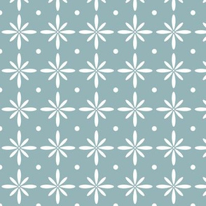 SMALL Farmhouse Flourish Blue (Heartland)