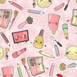 Make-up Pattern - Pink