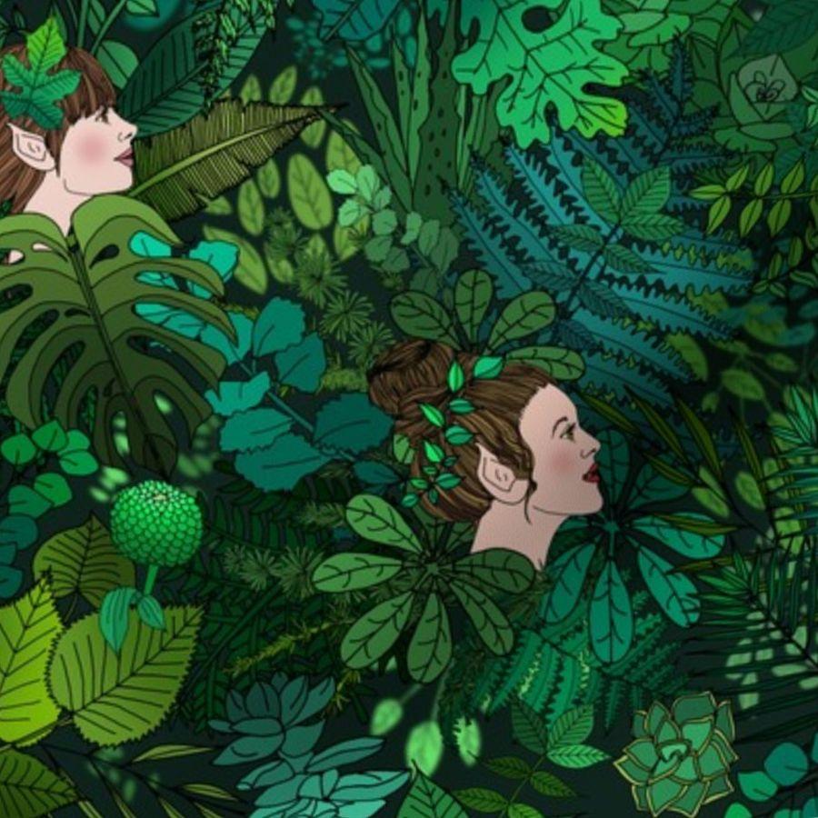 fantasie bilder von elfen und feen  ausmalbilder
