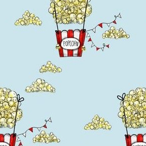 Popcorn air balloon