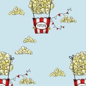 Popcorn air balloon
