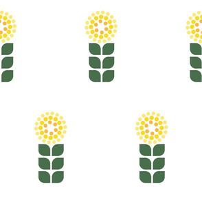 Sunny Flower Graphic