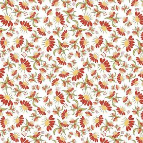 Tropical Paradise-Coneflowers