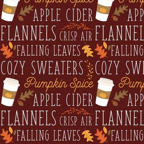 Fall & Pumpkin spice