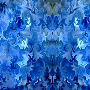 Liquid Blue Hydrangea - Large