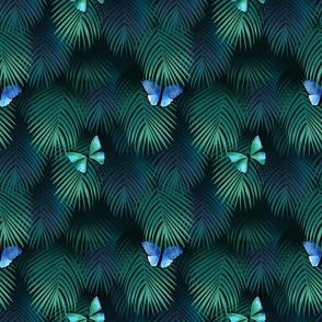 Emerald Jungle Butterflies