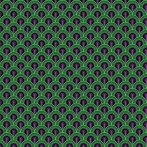 Overlook Hotel Carpet from The Shining: Purple/Green Small