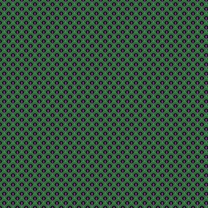 Overlook Hotel Carpet from The Shining: Purple/Green (tiny version)