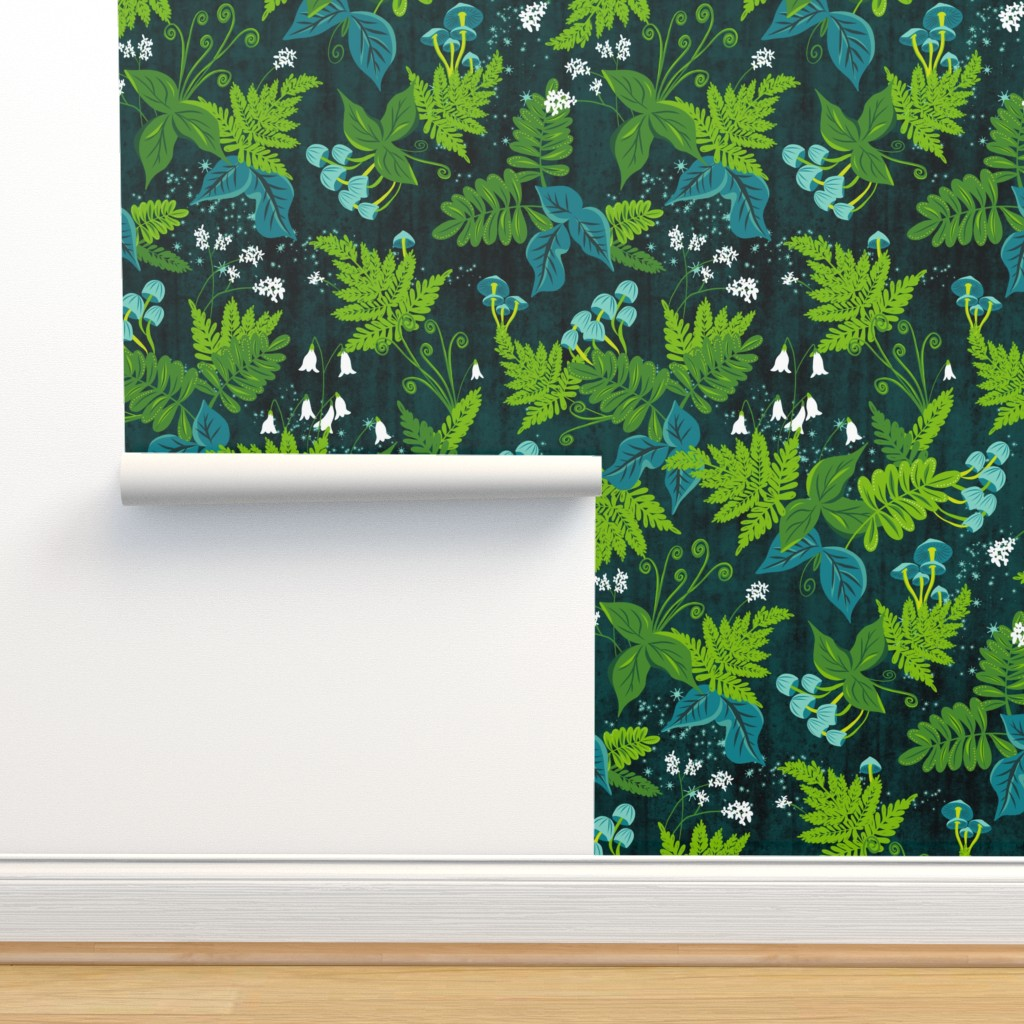 Isobar Durable Wallpaper featuring Magic Forest  by heatherdutton
