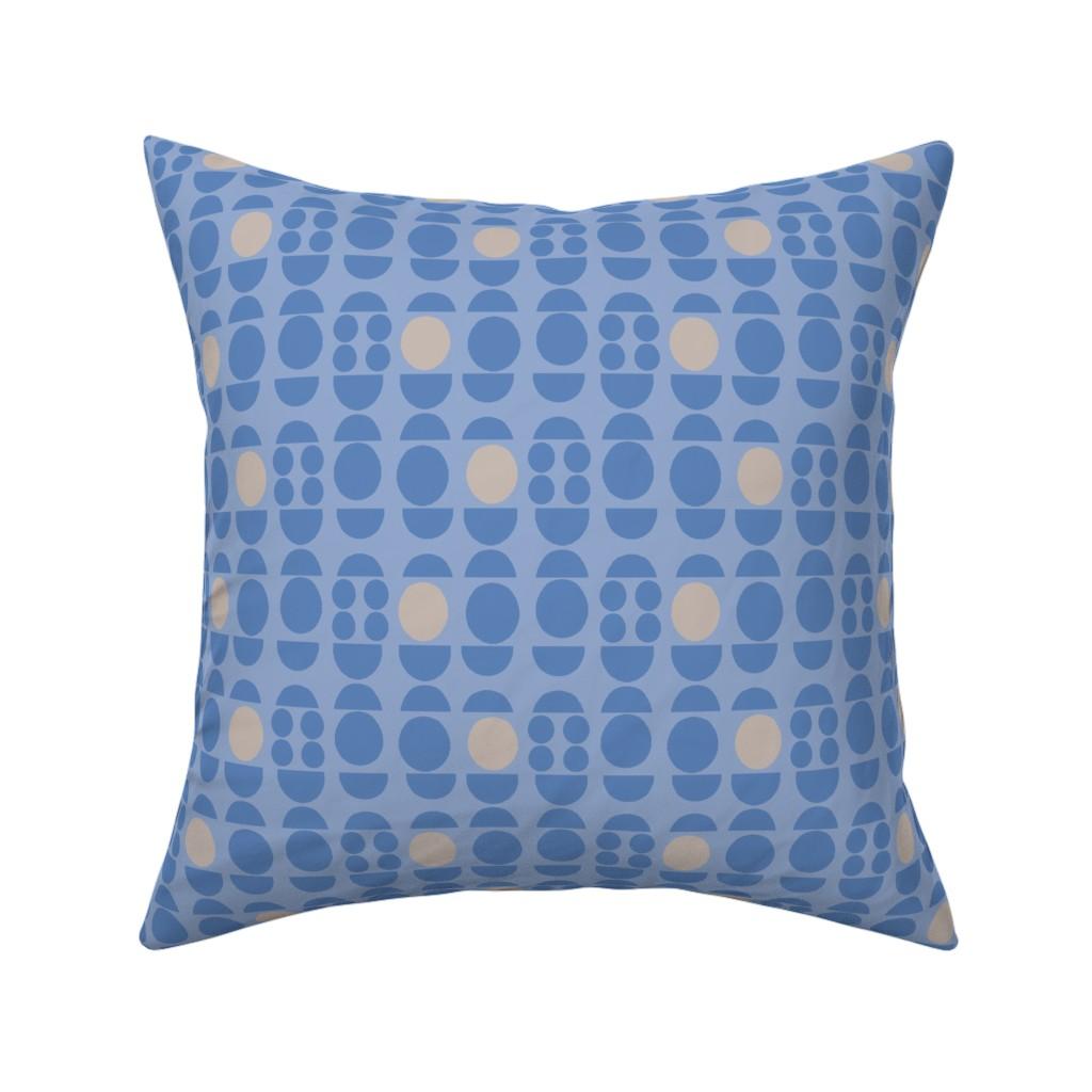 Catalan Throw Pillow featuring 186Oscar-b1 by miamaria