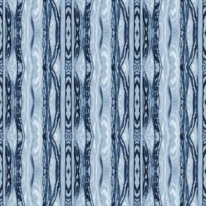 Flowing Totem in Dusty Blue