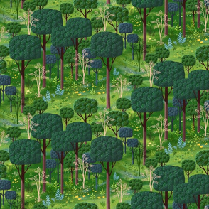 Emerald Forest Fantasy 2 Small