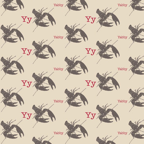 Y is for Yabby